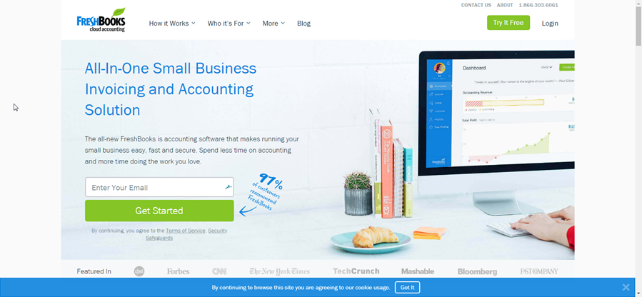 Freshbooks - affiliate marketing niches