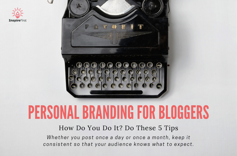 Vintage Typewriter - How do you build your personal brand - Personal Branding for Bloggers