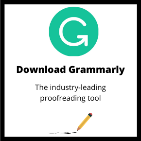 Download Grammarly for automated proofreading