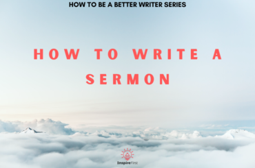 How to Write a Sermon in the clouds