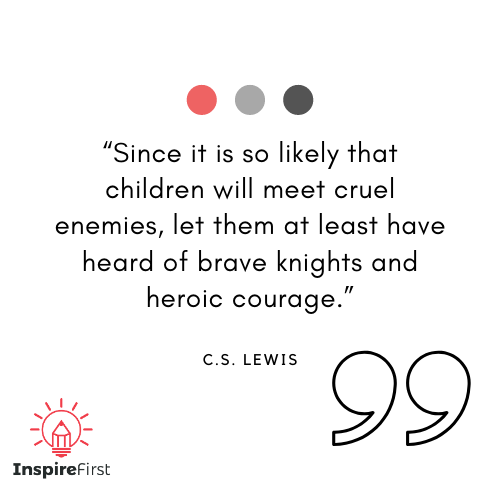 C.S. Lewis quotes on child inspiration