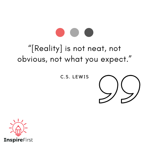 C.S. Lewis quotes on Reality