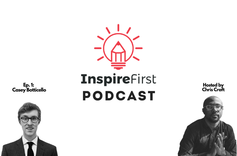 InspireFirst Podcast Ep 001 with Casey Botticello talking Medium and Substack