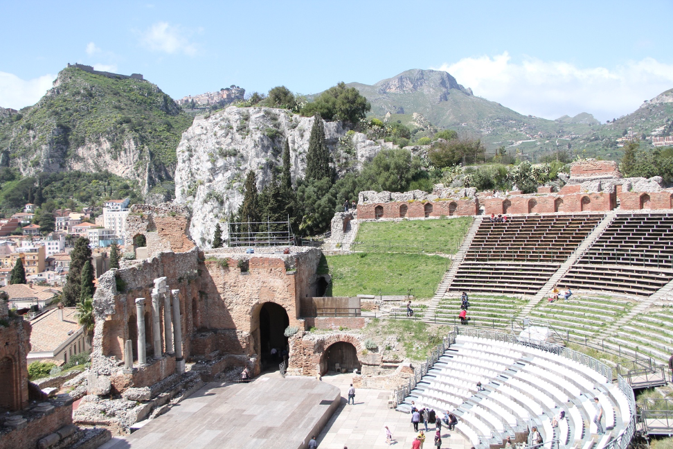 Teatro Greco - how to become a travel blogger