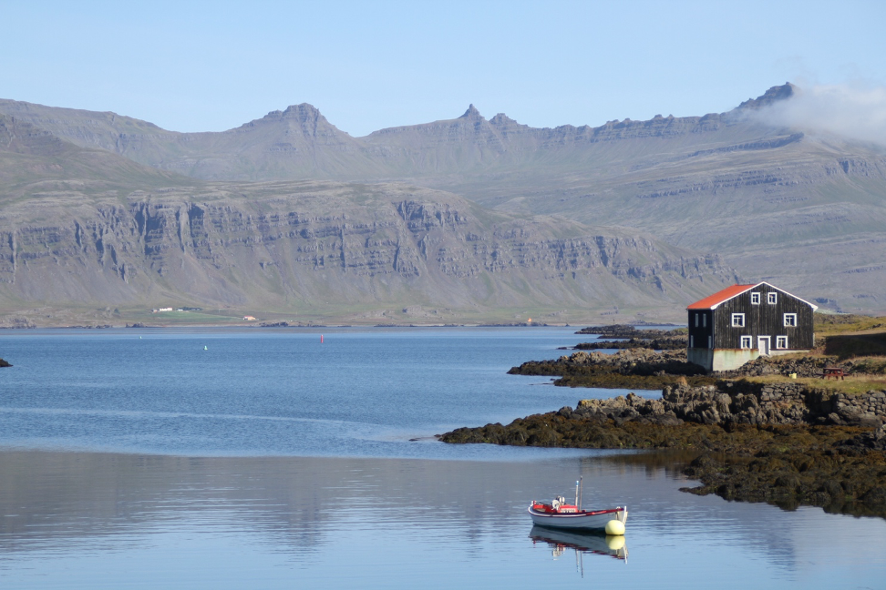 a fishing boat in Iceland - How Become a Travel Blogger