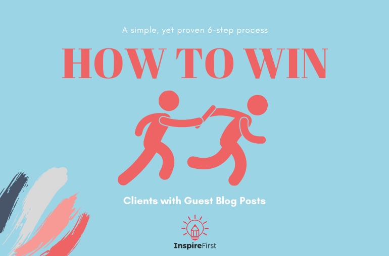 how to win clients with guest blog posts