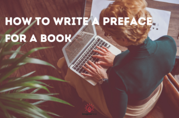 how to write a preface for a book