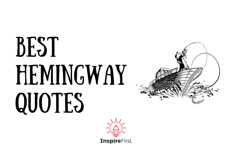 best Hemingway Quotes, man in fishing boat