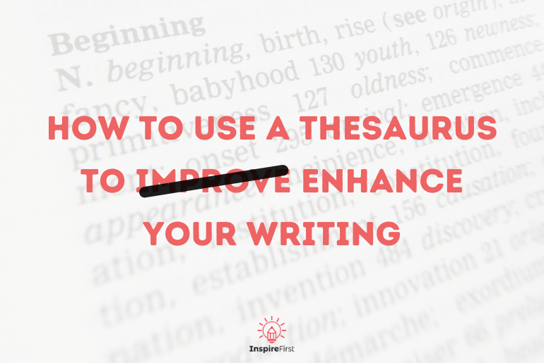 how to use a thesaurus, thesaurus page background