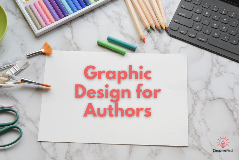 how to make your own graphic design, artistic desk photograph