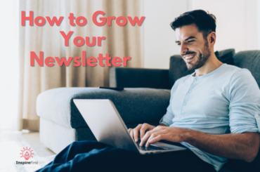 best way to grow your email list, man working on laptop