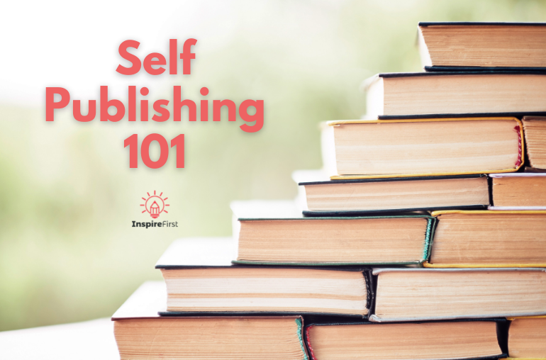 what is self publishing, stack of books